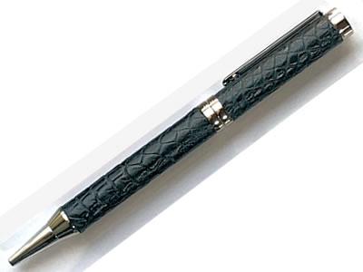 革巻きボールペン