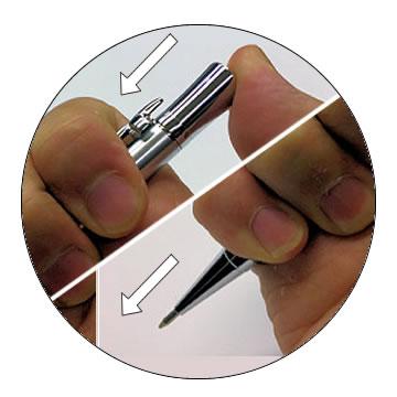 ドロップ式ボールペンの特徴2