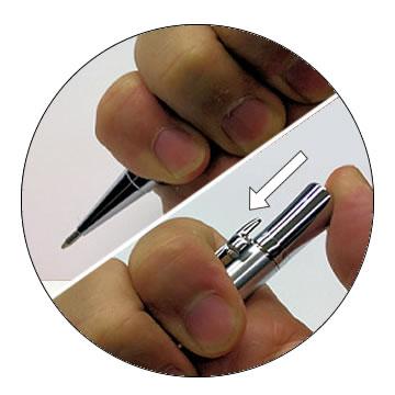 ドロップ式ボールペンの特徴3
