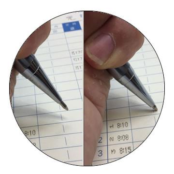 ドロップ式ボールペンの特徴5