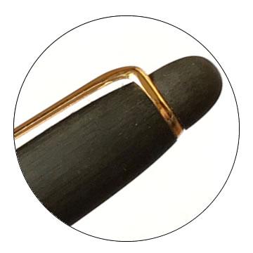 エボナイト削り出しボールペンの特徴1