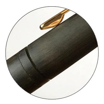 エボナイト削り出しボールペンの特徴2