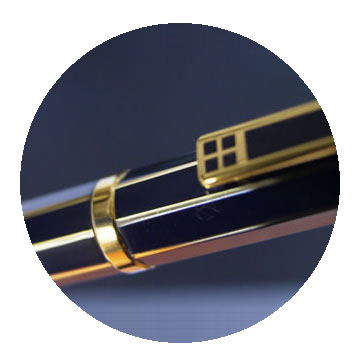 G2ダイヤカット8角ボールペンの特徴1