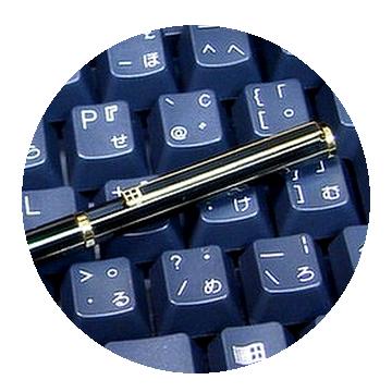 G2ダイヤカット8角ボールペンの特徴2