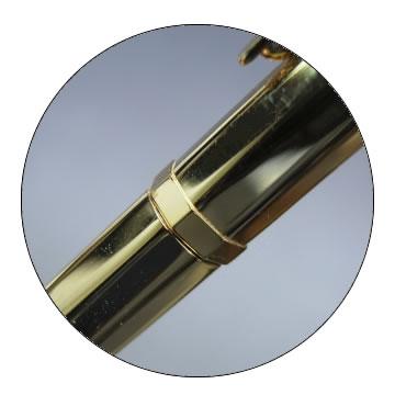 G8角ゴールドボールペンの特徴2