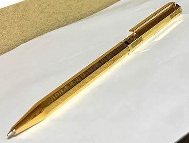 GM-H8角ゴールドボールペン油性ボールペン