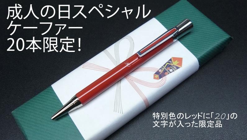 本革巻きボールペン