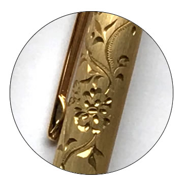 削り出し無垢ボールペンの特徴2