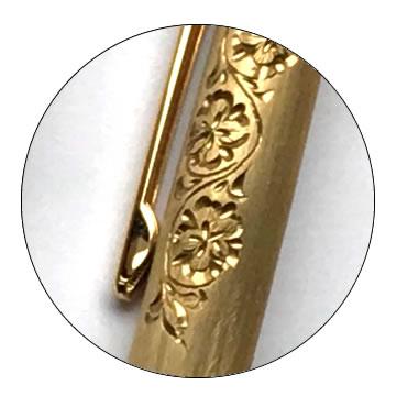 削り出し無垢ボールペンの特徴3