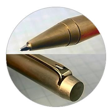 削り出し無垢ボールペンの特徴4