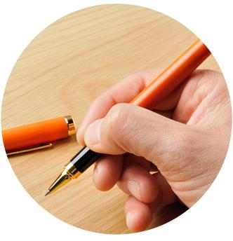 ベークライト製ボールペンの特徴2