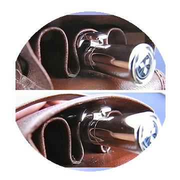 本革ペンケース シースの特徴3