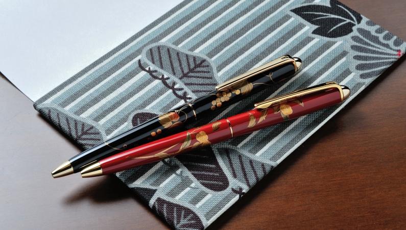 輪島漆蒔絵ボールペン