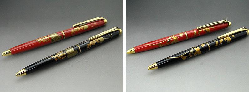 輪島漆蒔絵ボールペン 利用シーン
